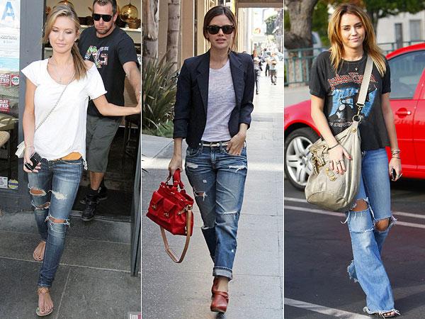 calca-jeans-rasgada-8 Look do dia: Jeans Destroyed + onça