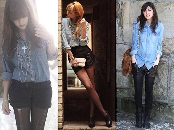 camisajeans005 Inspiração Jeans com Jeans