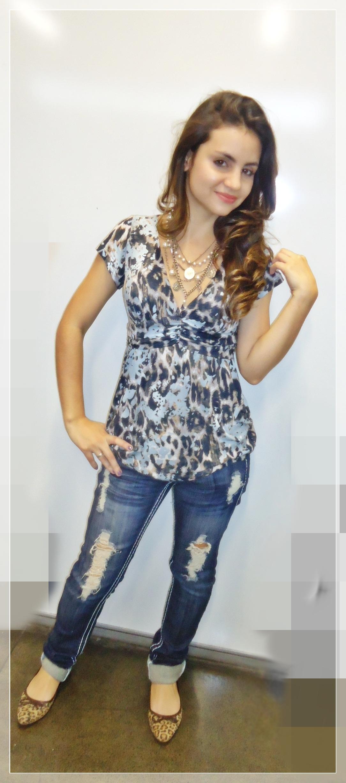 dsc00521 Look do dia: Jeans Destroyed + onça