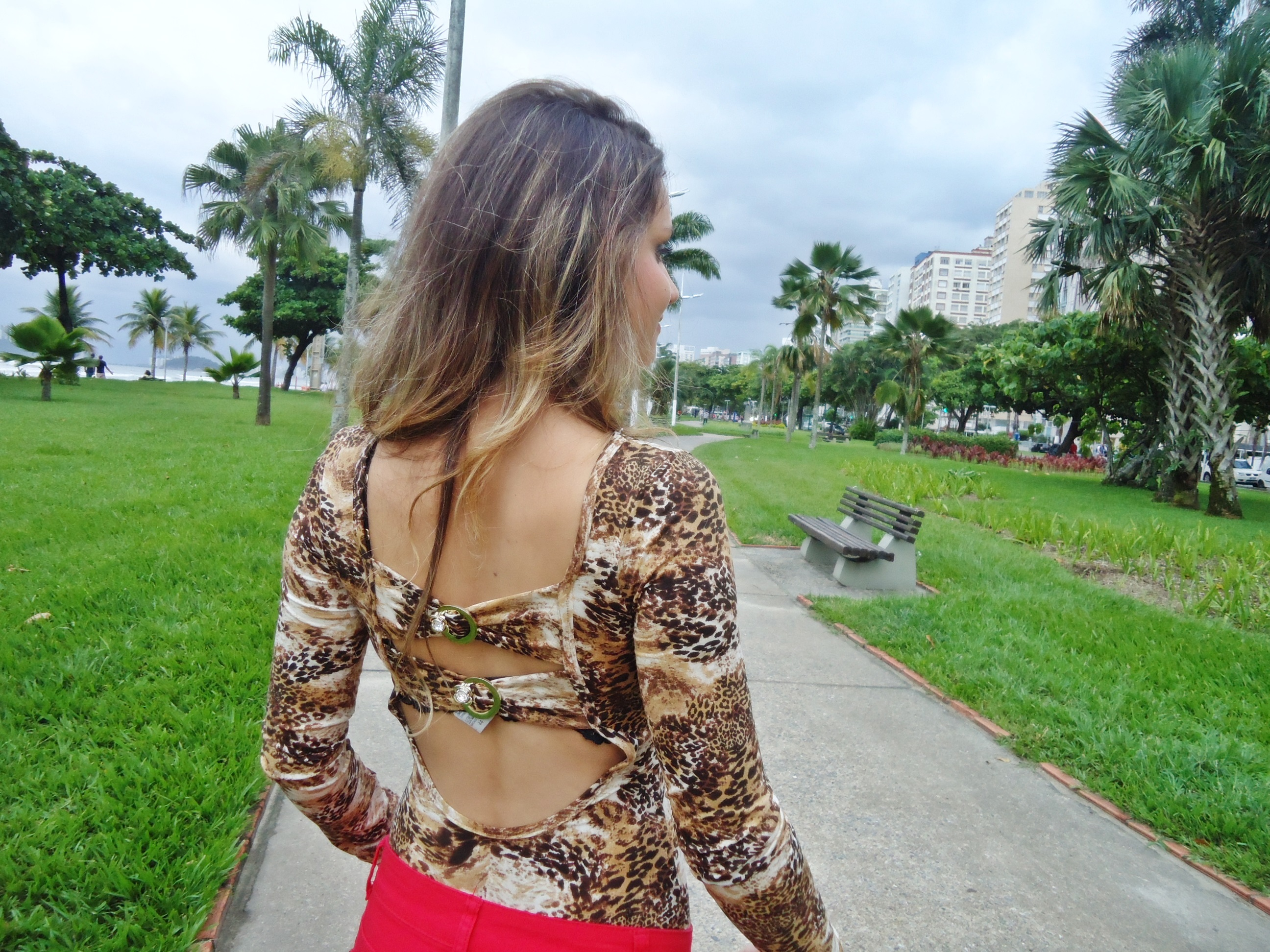 dsc06257 Look do Dia: Body animal print + vermelho!