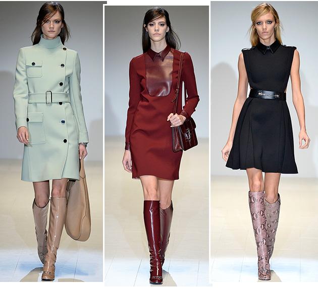 20140220_gucci-outono-inverno-2014-15-mfw_oqvestir_03 Inspiração Outono inverno Usando Vestidos