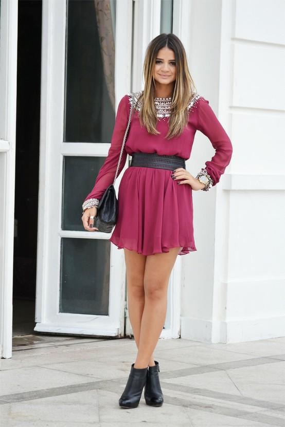 vestidos-meia-estacao-2014-10 Inspiração Outono inverno Usando Vestidos