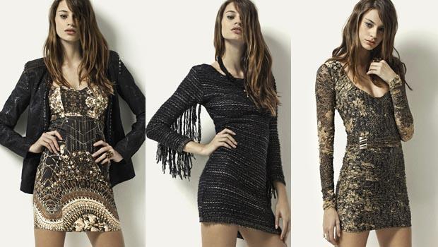 vestidos-outono-inverno-2013-modelos Inspiração Outono inverno Usando Vestidos
