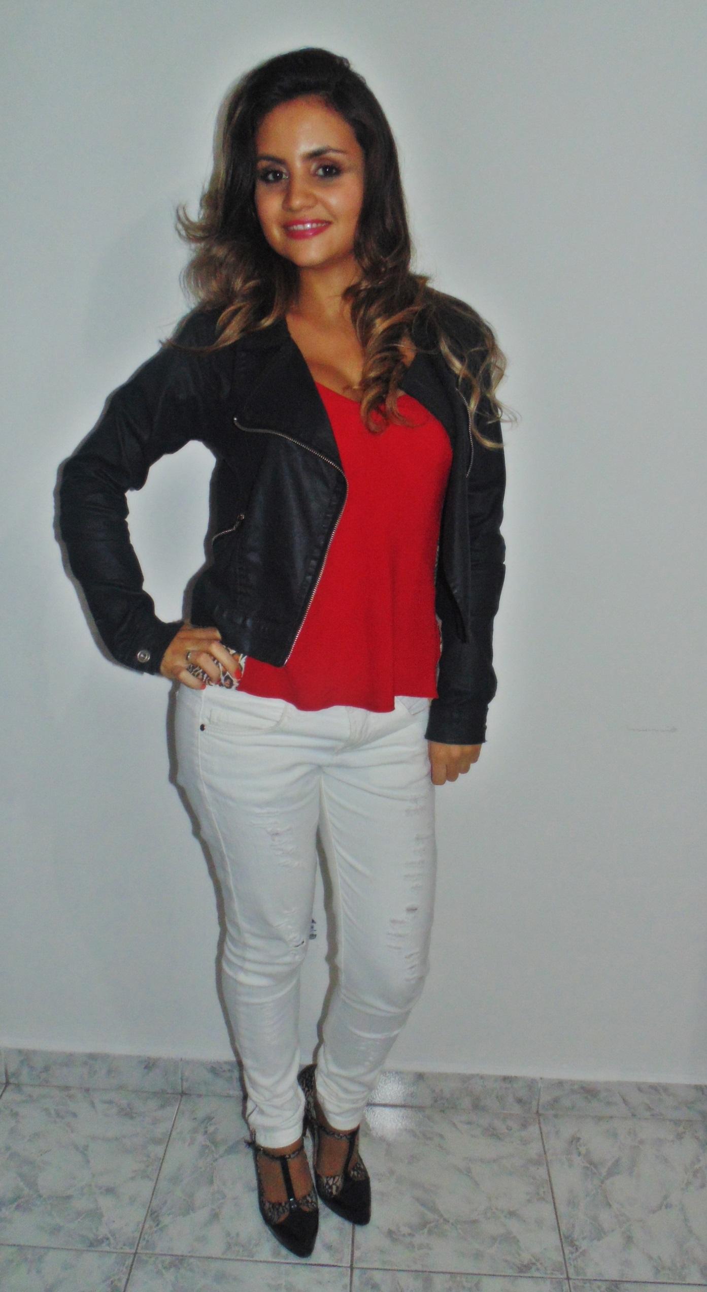 dsc01094 Look: Outono de calça branca + vermelho