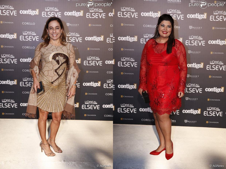 cissa-e-fabiana Looks da Famosas Prêmio Contigo