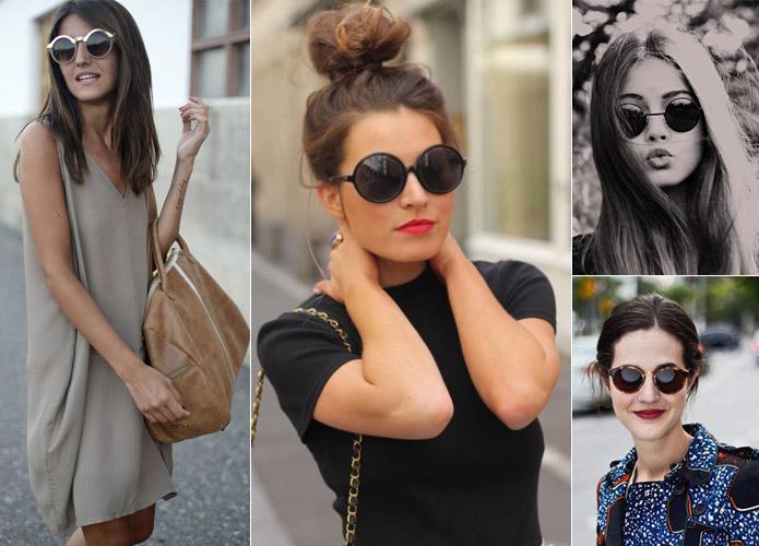 oculos-redondo Tendência: Óculos Redondos e espelhados