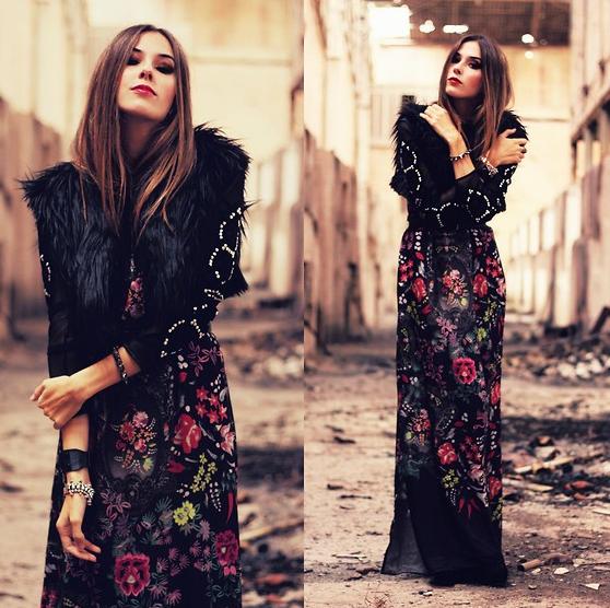 vestido-fundo-preto Trend alert: Floral com fundo escuro