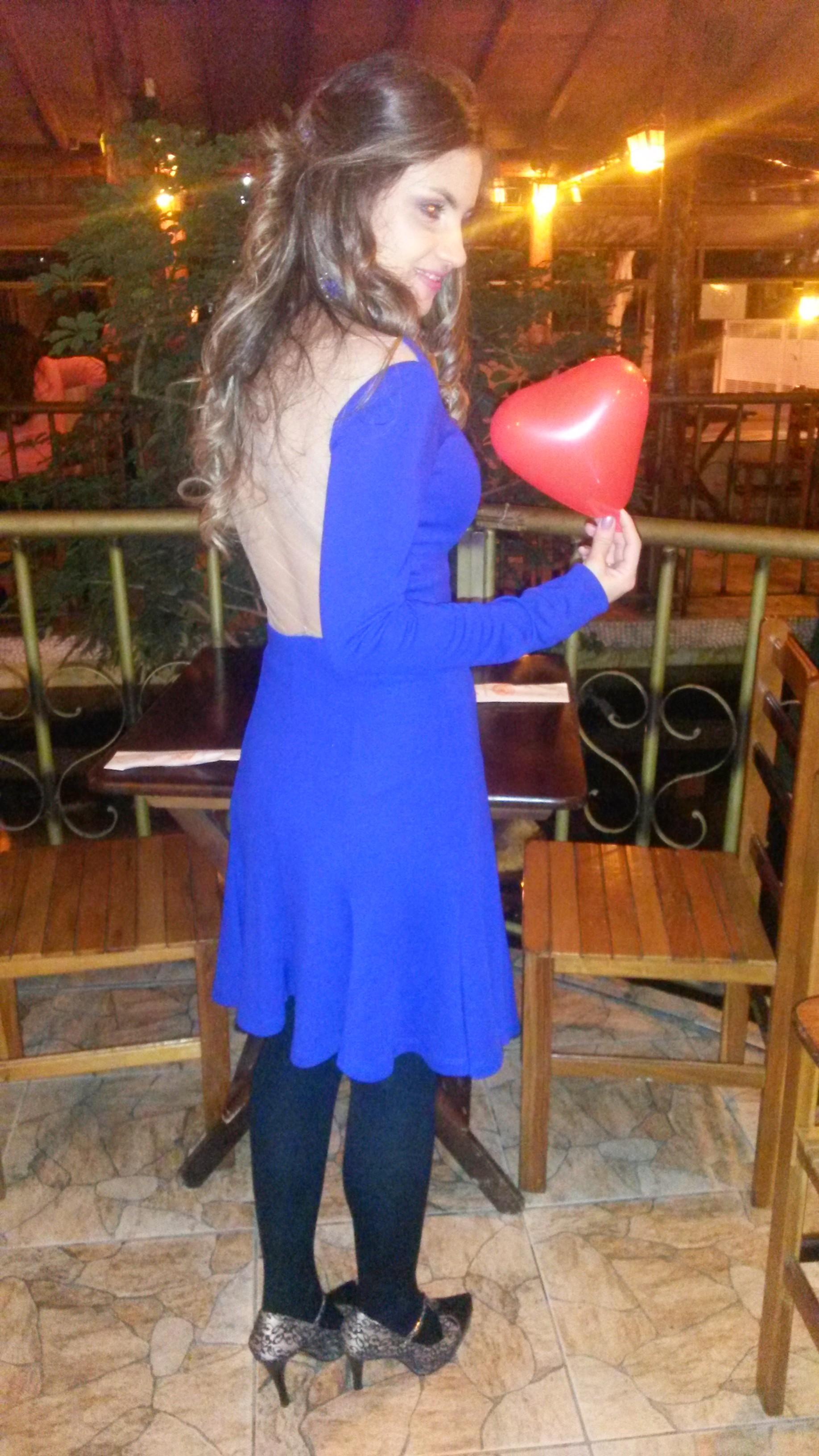 20140806_230451 Look do Noivado:Vestido Azul