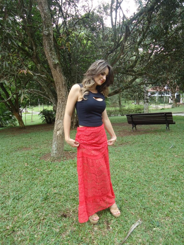 DSC07882-768x1024 Look: Camisa Jeans + Renda = Perfeição