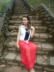 DSC07901-225x300 Look: Camisa Jeans + Renda = Perfeição