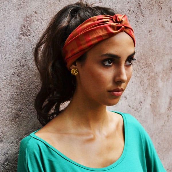 turbante21 Cabelos  e Penteados de Verão 2015