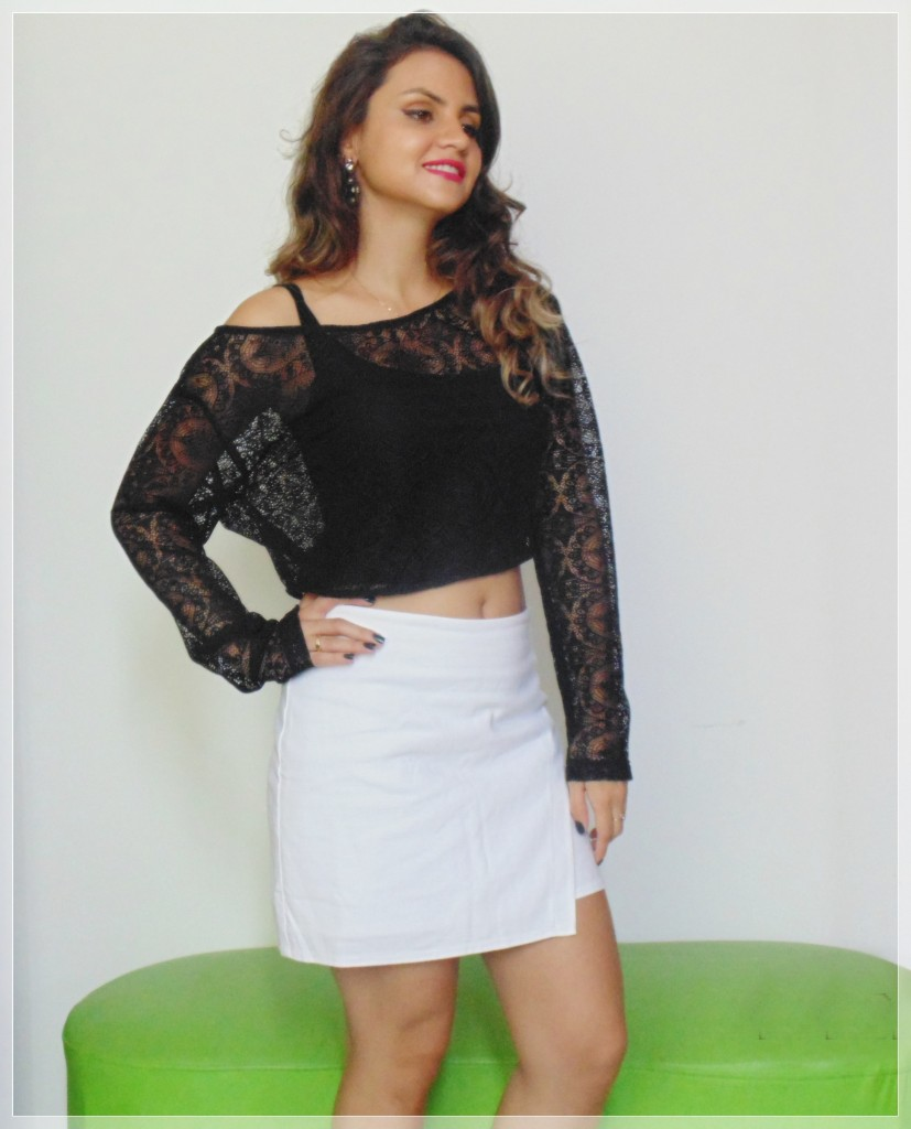 DSC01941-827x1024 Look da Ká: top cropped no clássico preto e branco