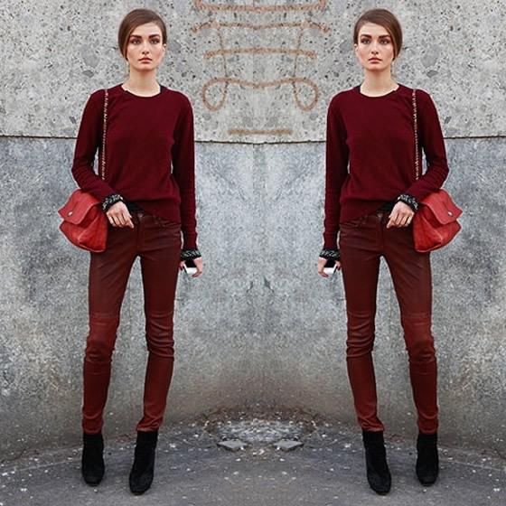 e00d4-ton-on-tone Moda de rua : tendências outono inverno 2015