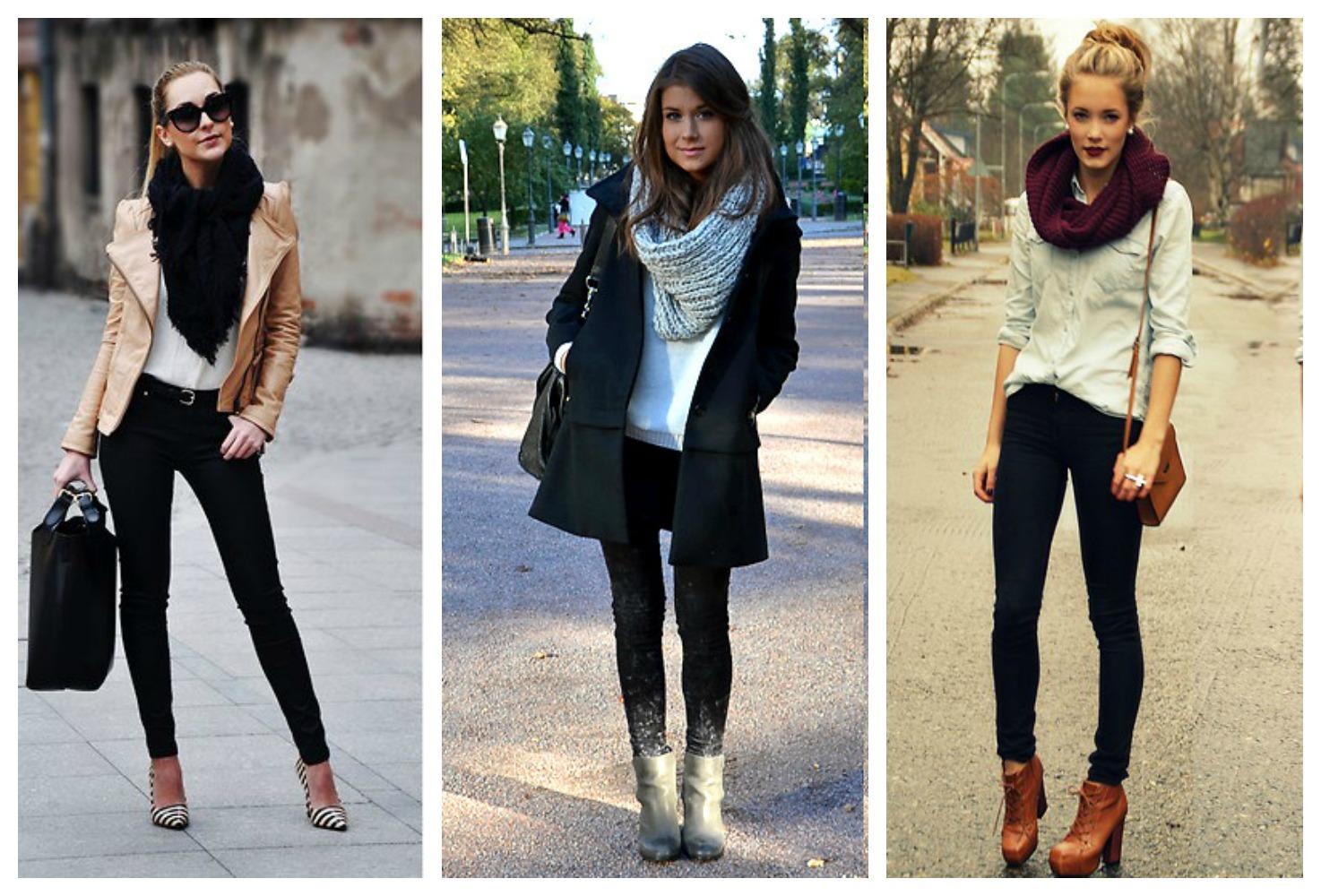 cachecol-no-inverno Moda de Rua: roupas para trabalhar no inverno 2015