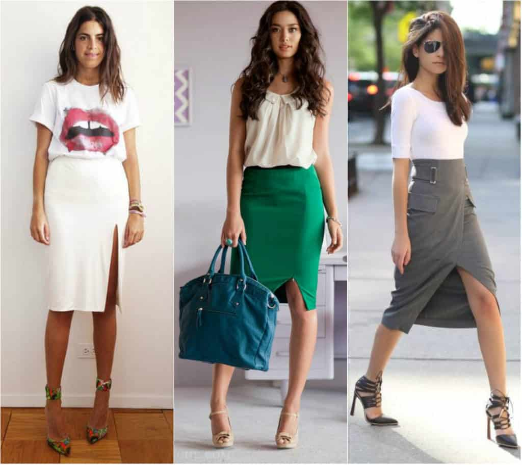 1Looks-com-saia-lápis_blog-el-ropero_juliana-sena Moda de Rua: Saia Lápis com Fenda