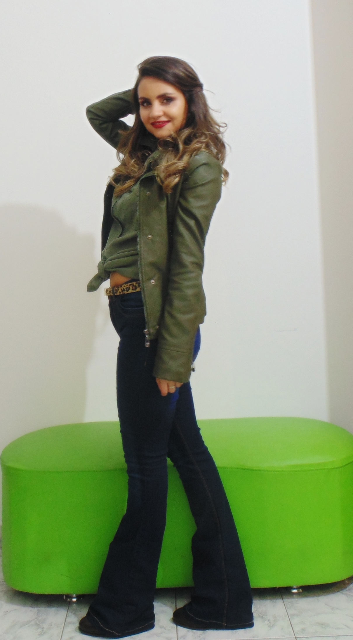 DSC02251 Look da Ka: Flare Jeans + Militar
