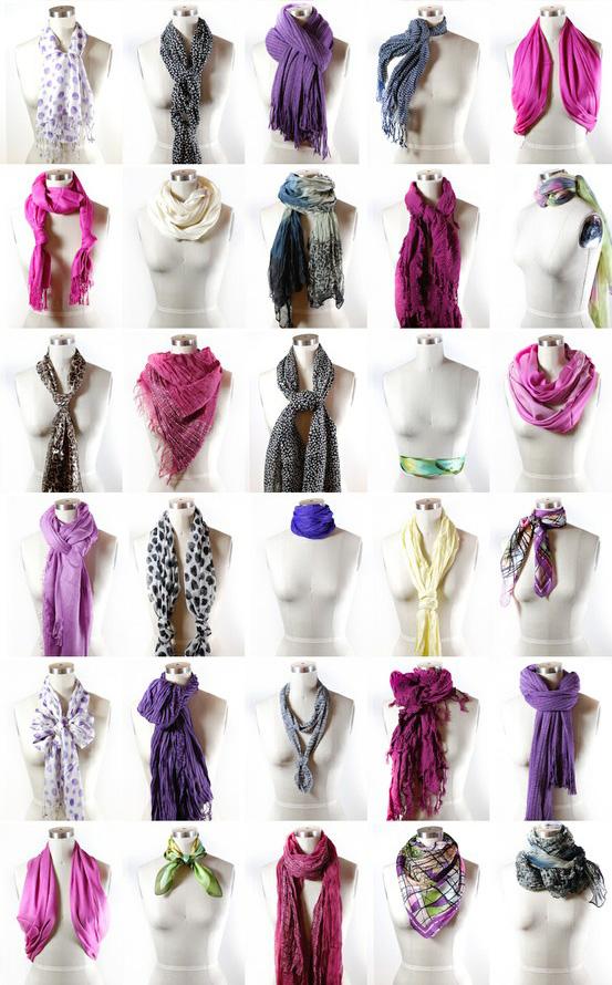 40-maneiras-de-amarrar-lencos-scarves-2 Achados : Dicas para presentes dos dias dos namorados