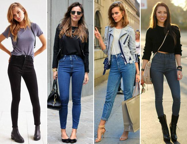 46 Moda de Rua: Calça cintura alta skinny