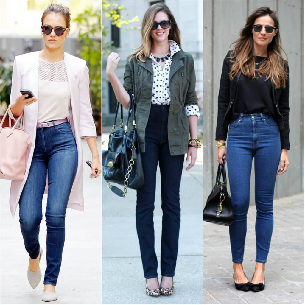 Tá-na-moda_como-usar_jeans-cintura-alta_blog-elropero_-juliana-sena_4 Moda de Rua: Calça cintura alta skinny