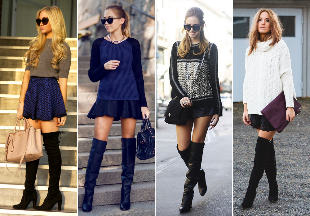 bota-over-the-knee-aprenda-a-usar4 Moda de rua: Botas Over Knee