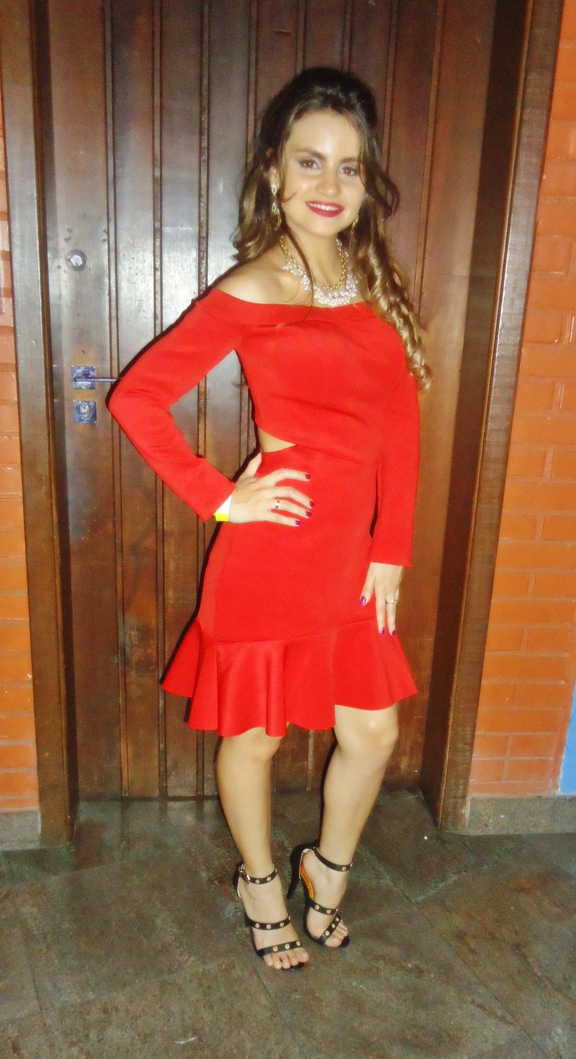 DSC08555 Look da Ká: Vestido Vermelho Paixão