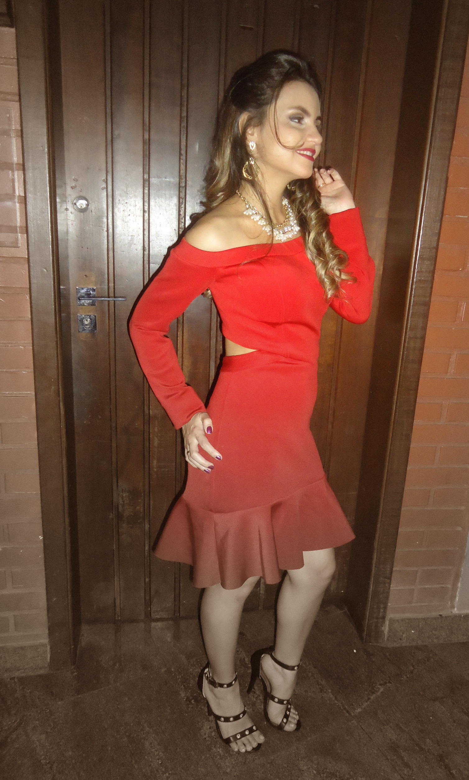 DSC08559 Look da Ká: Vestido Vermelho Paixão