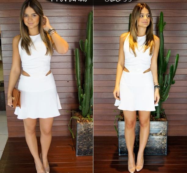 vestido-branco-recorte-cintura Moda de rua: 5 tendências fortes para verão 2016
