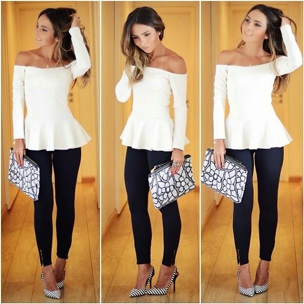 kaue-plus-size-blusa-ombro-ombro-look2 Moda de rua : Vestido e Blusas Ombro a Ombro Verão 2016