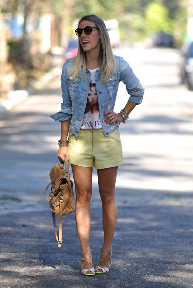 look-jaqueta-jeans-blog-glam-4-you Moda de rua:  Jaqueta jeans