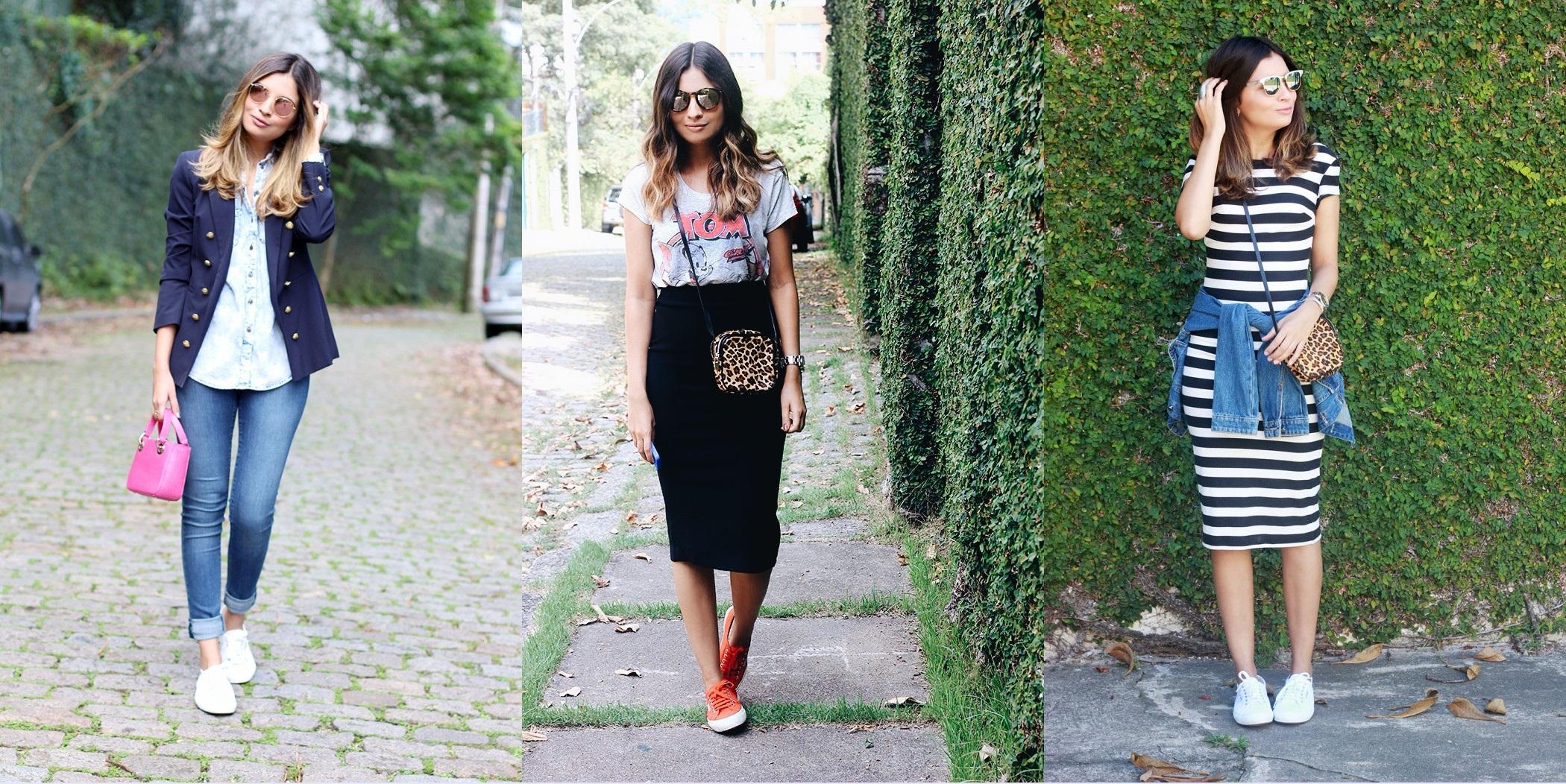 Meu-look-blazer-navy-Jessica-Velasco-4-700x1050-horz Moda de rua: Looks com Tênis