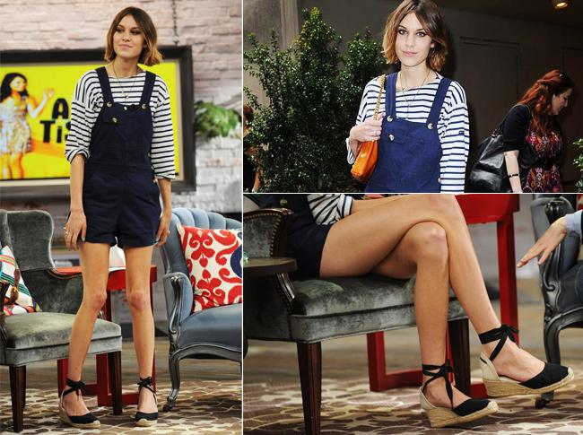alexa-chung-espadrille-ok Moda de rua: Espadrille, onde comprar?
