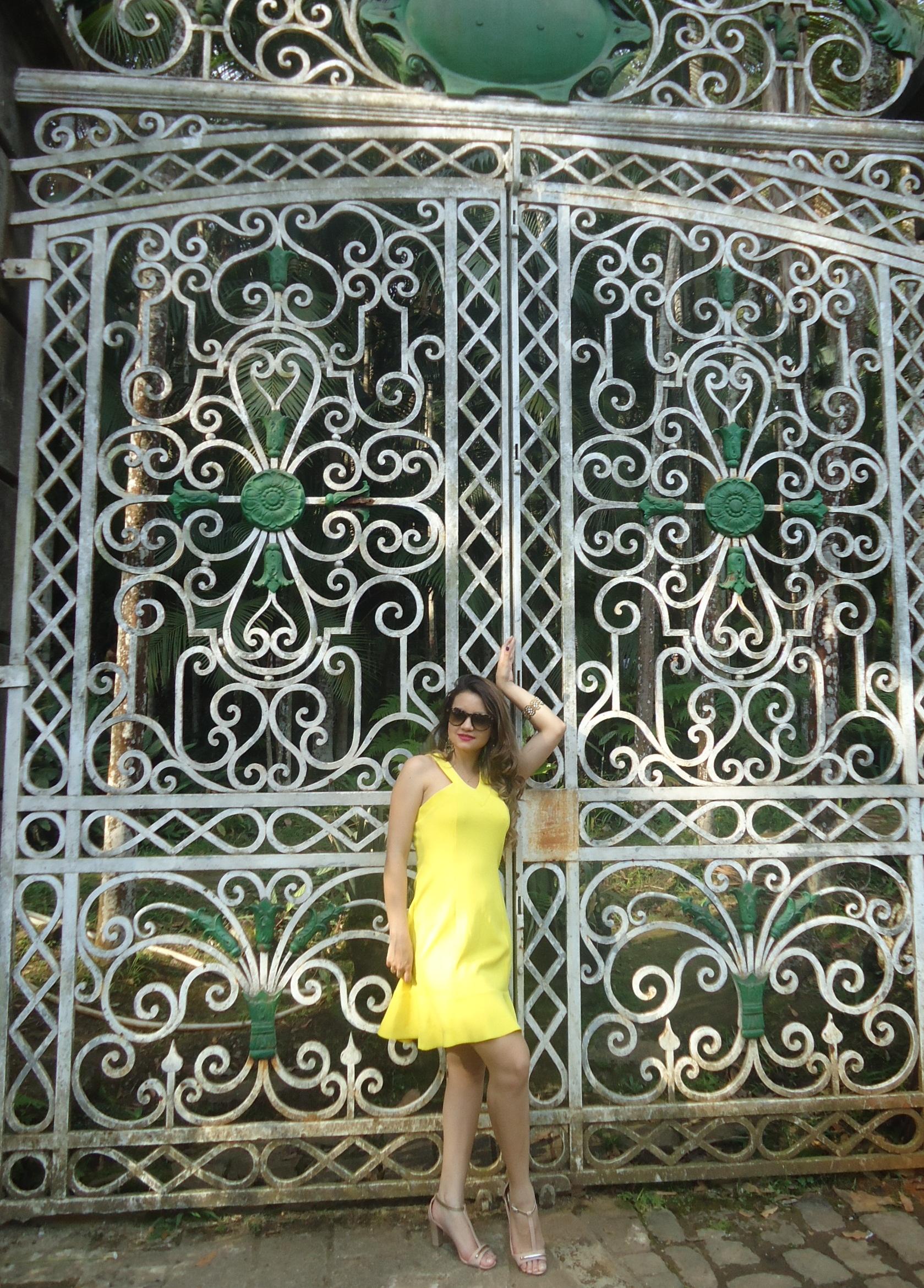 DSC08734 Look da ka:  Vestido Amarelo - Verão