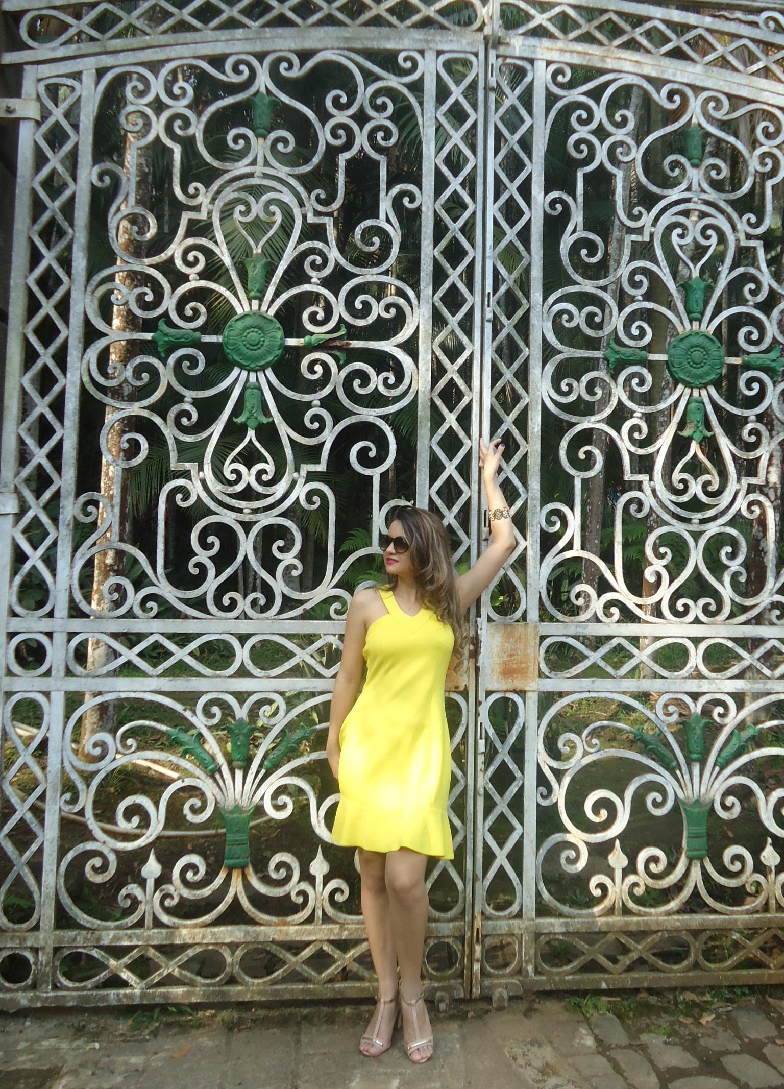DSC08735 Look da ka:  Vestido Amarelo - Verão