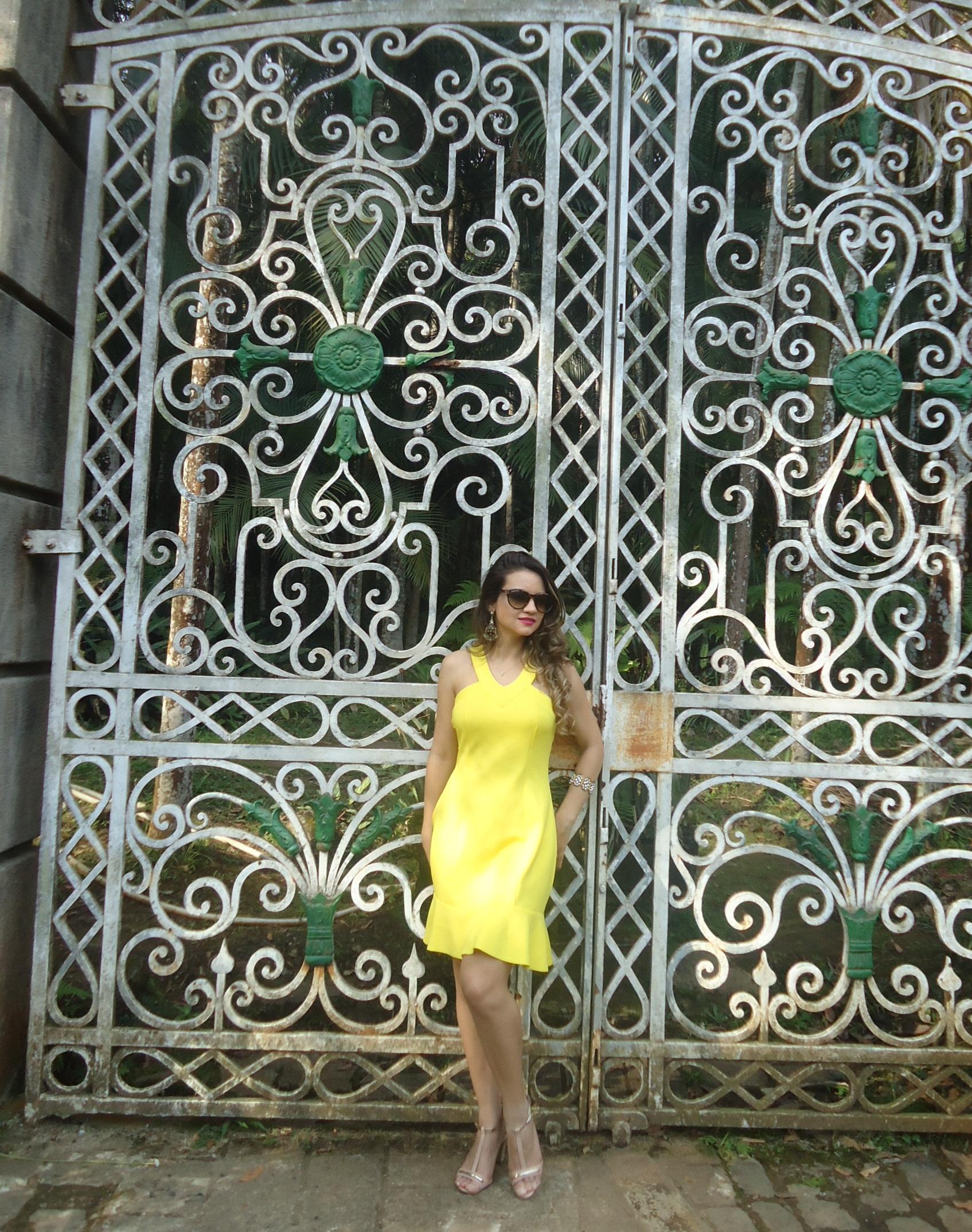DSC08736 Look da ka:  Vestido Amarelo - Verão