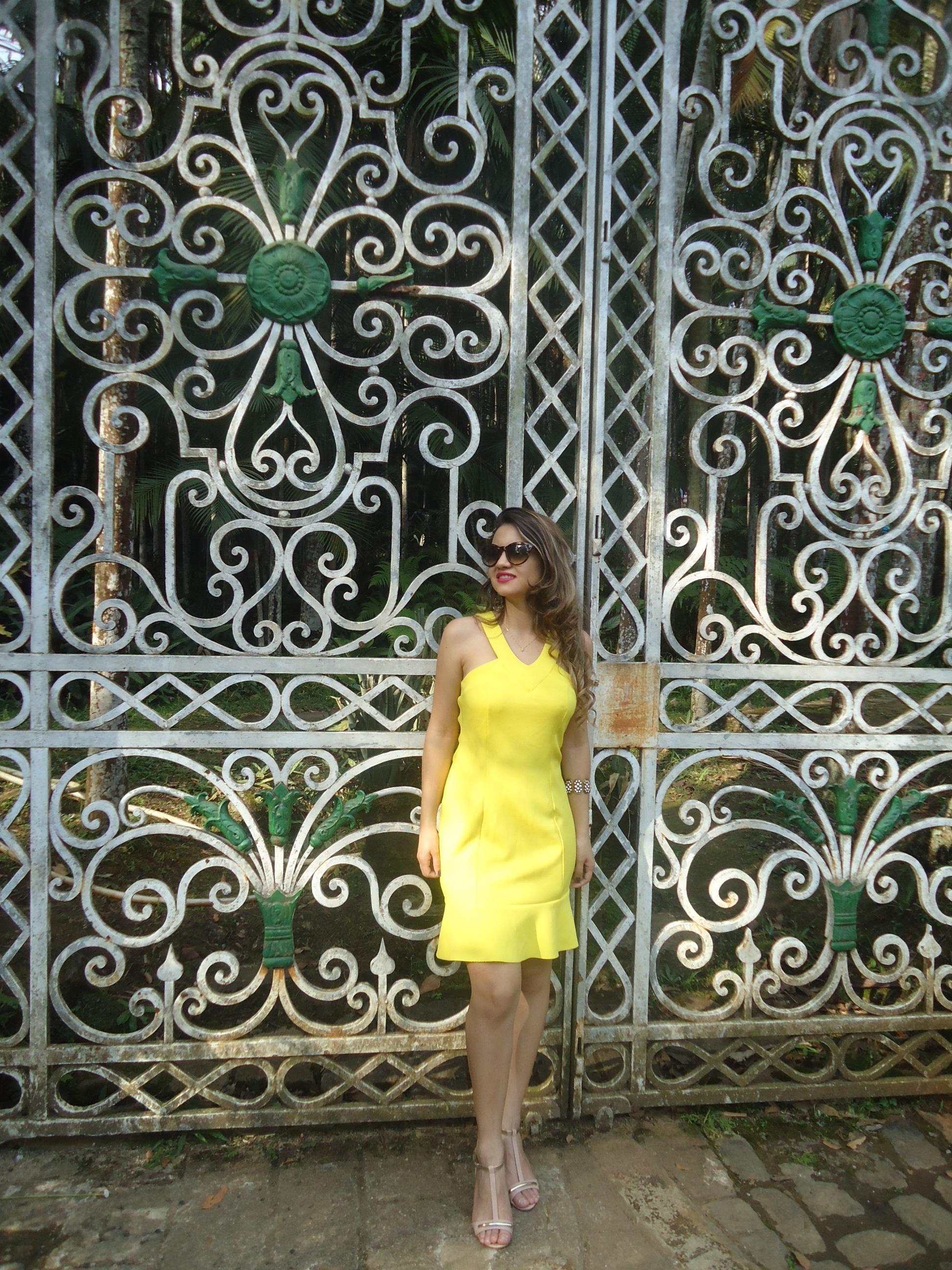DSC08738 Look da ka:  Vestido Amarelo - Verão