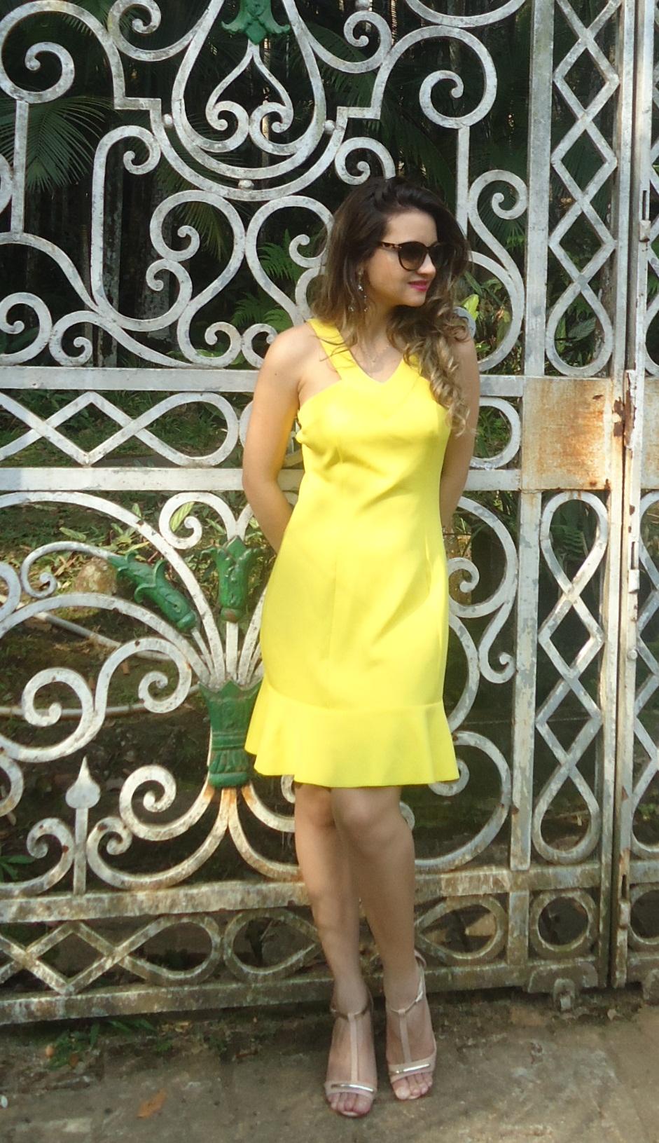 DSC08751 Look da ka:  Vestido Amarelo - Verão