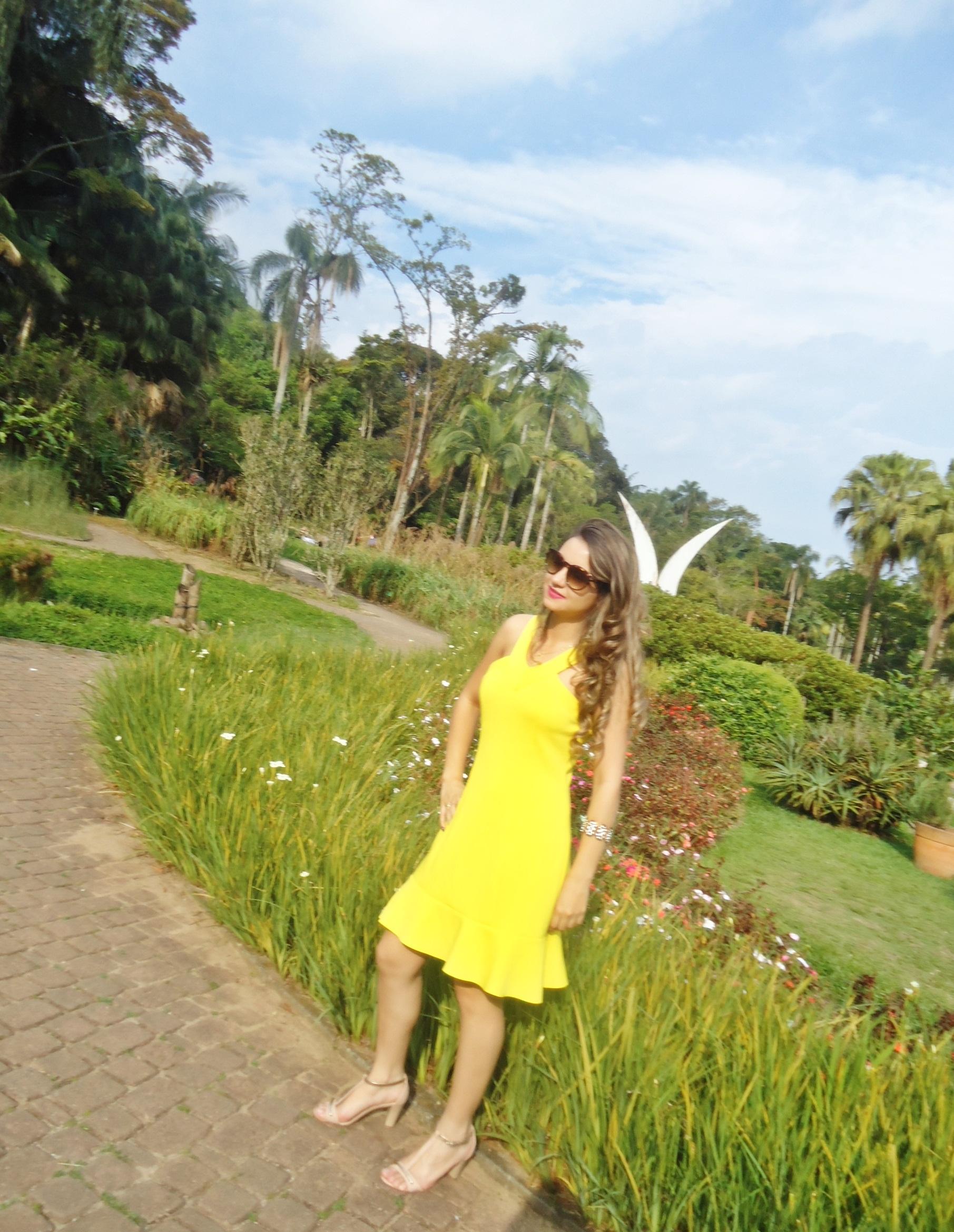 DSC08756 Look da ka:  Vestido Amarelo - Verão