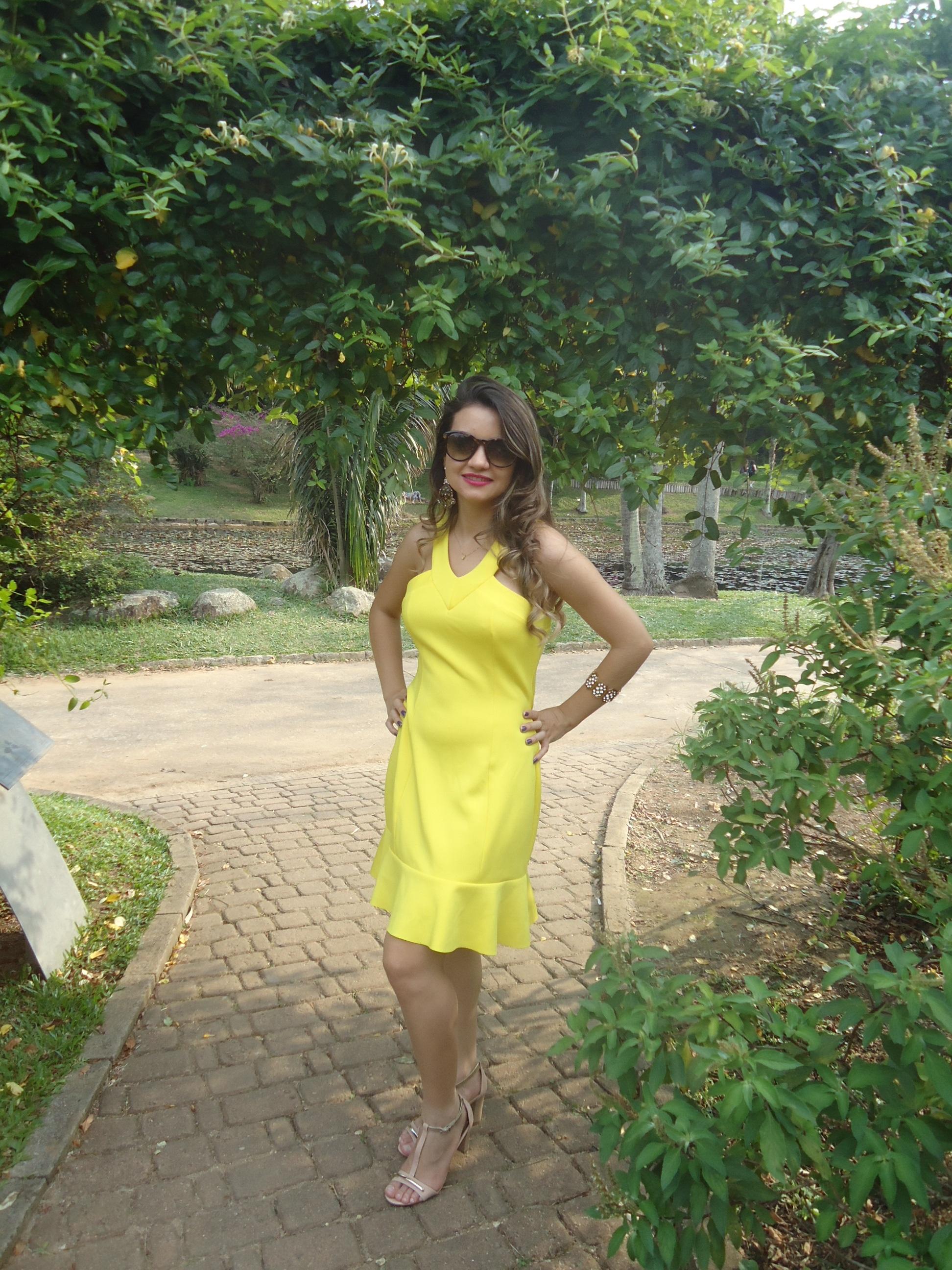 DSC08759 Look da ka:  Vestido Amarelo - Verão