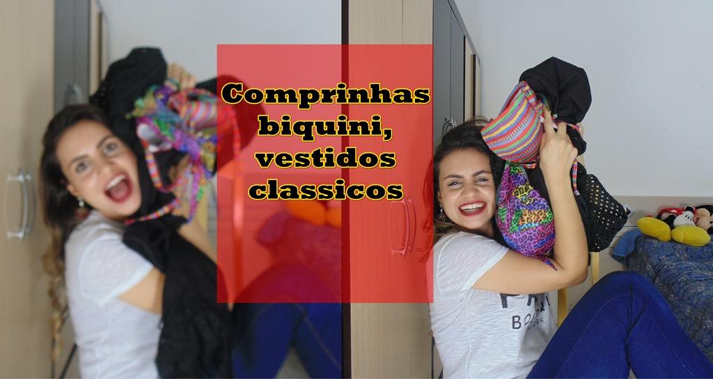 comprinhasss Video: Comprinhas biquini e roupas para ocasiões especiais