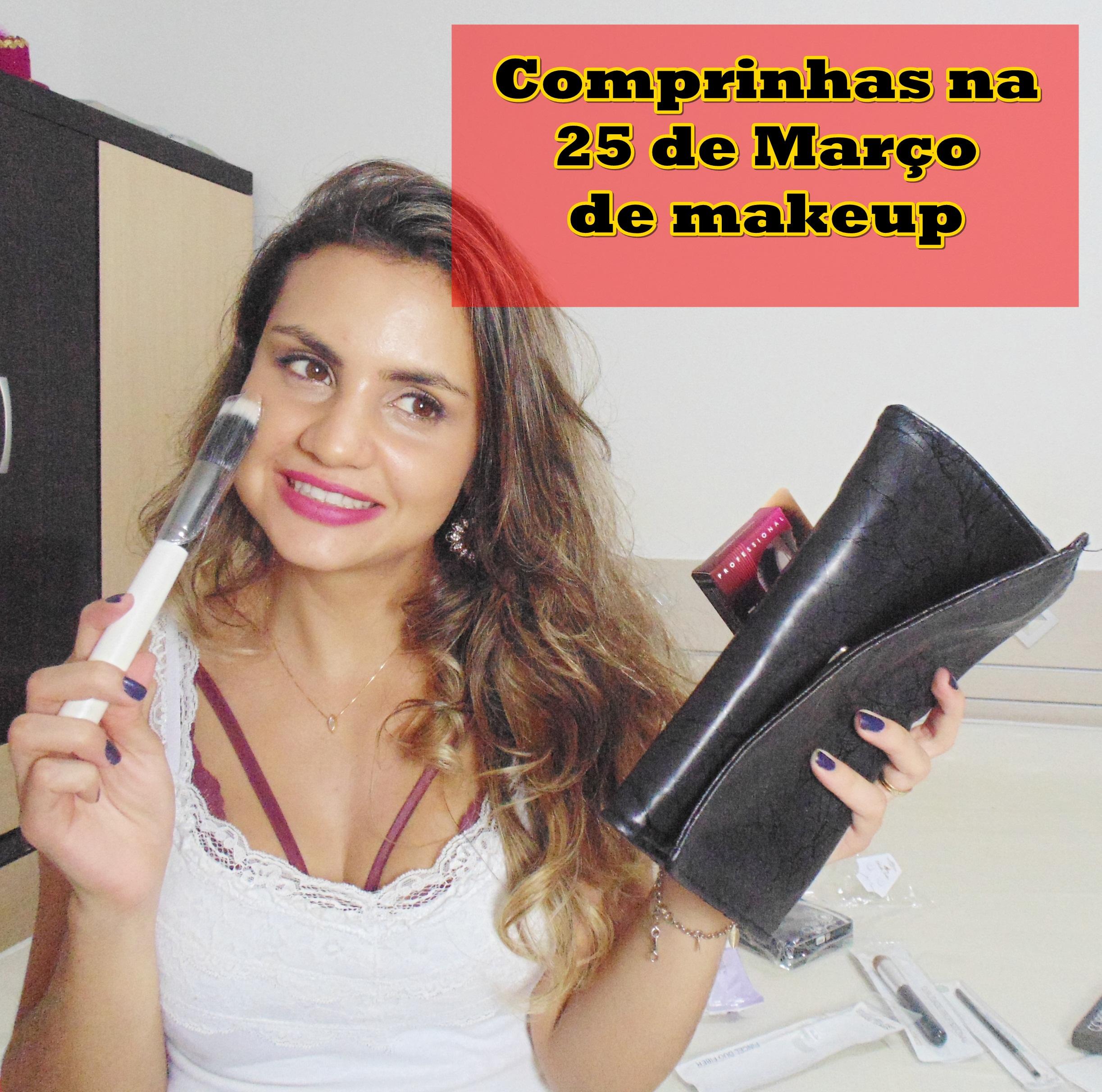 DSC03668 Video: Comprinhas de Makeup na 25 de Março