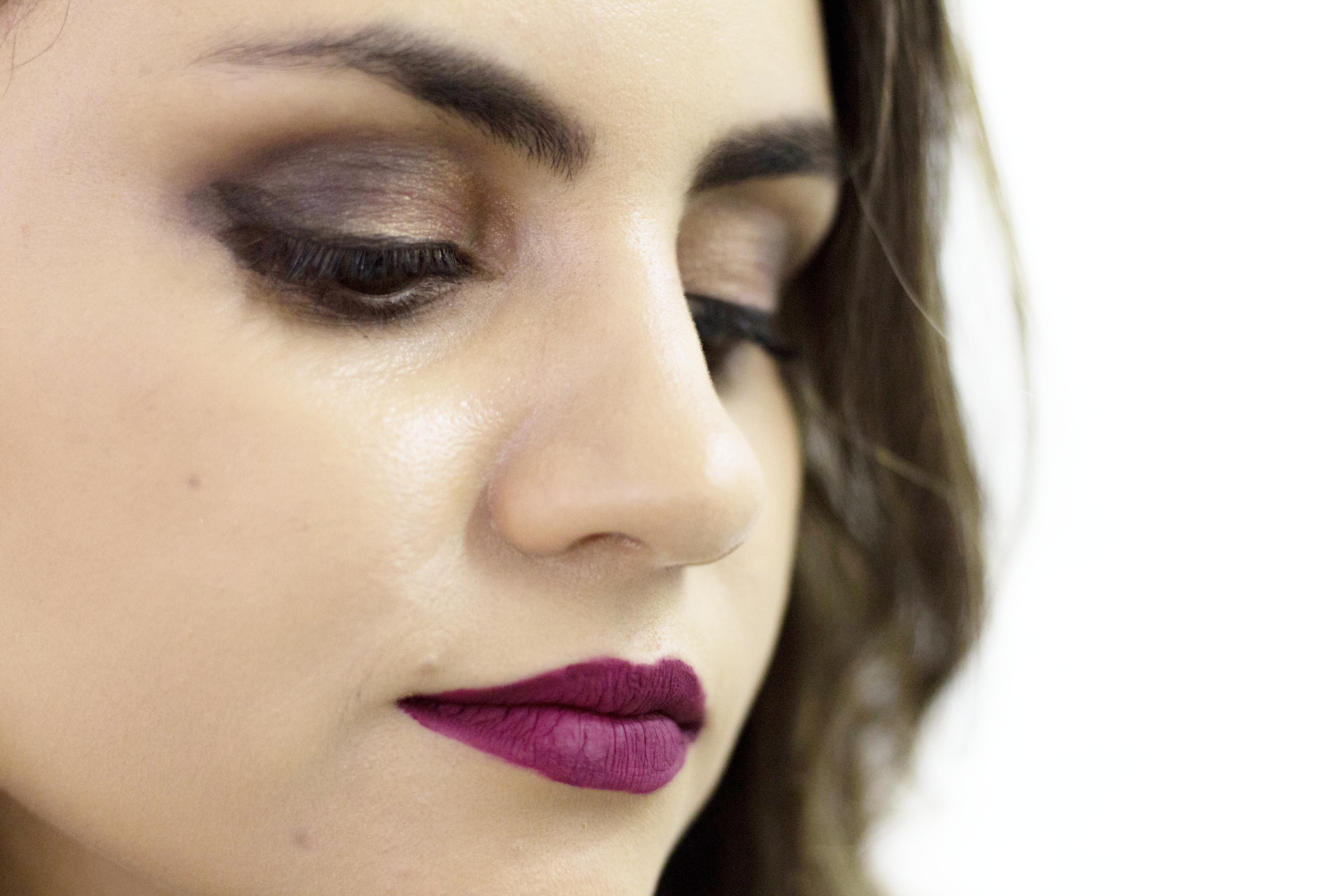 IMG_2046 Look da Ka: Saia Lápis + Kimono e makeup