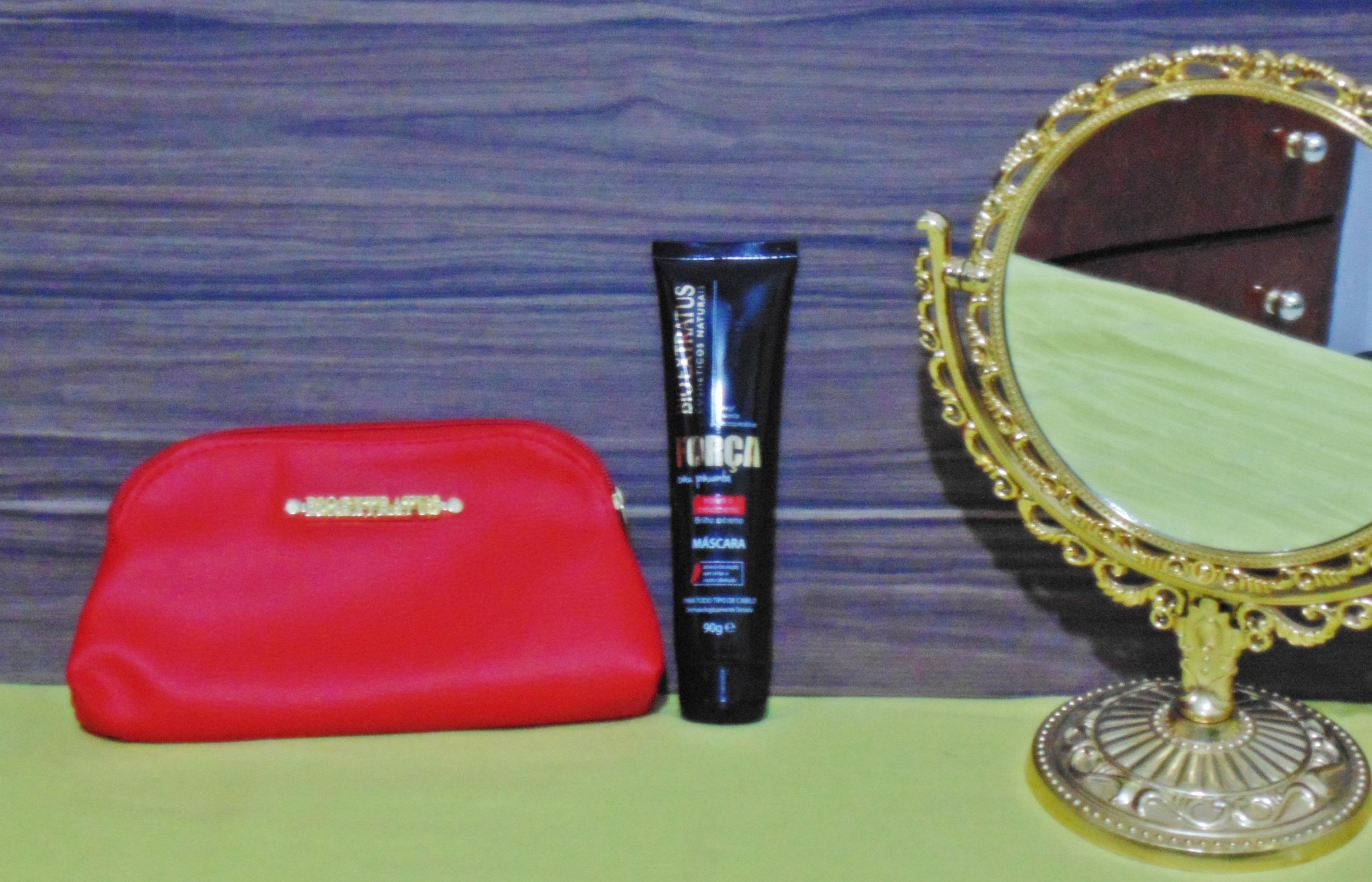 DSC04375 Eu uso eu indico: Mascara Linha Bio Extratus Força com Pimenta
