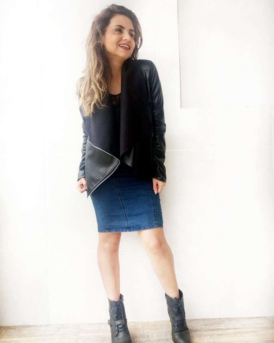 IMG_20170122_143102_561 Look da Ka:  Black Jacket + Saia Lapis Jeans