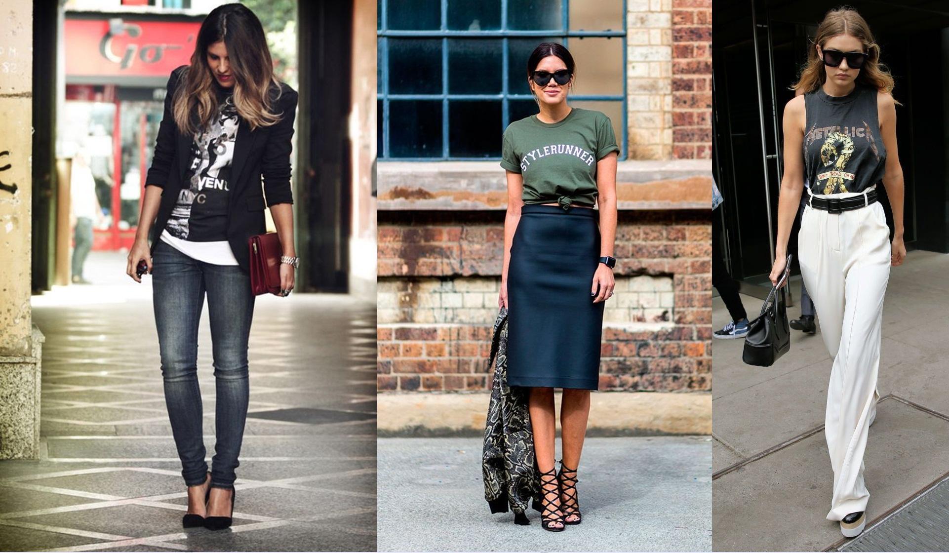 camiseta Moda de rua: 5 trends para usar no Look do Trabalho