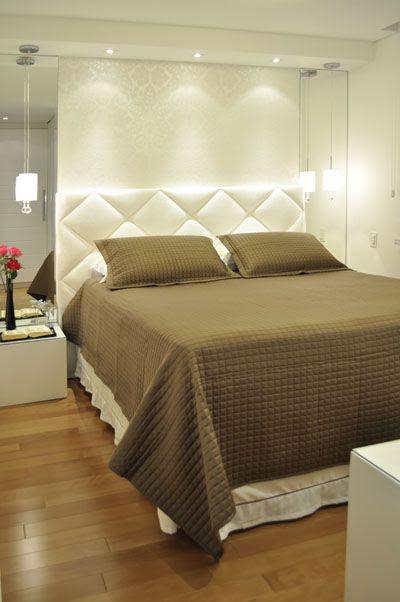 f8227f5b09572d6c8b71e05f9d61c1d9 Missão quem casa quer casa: 5 inspirações para a iluminação de quartos pequenos