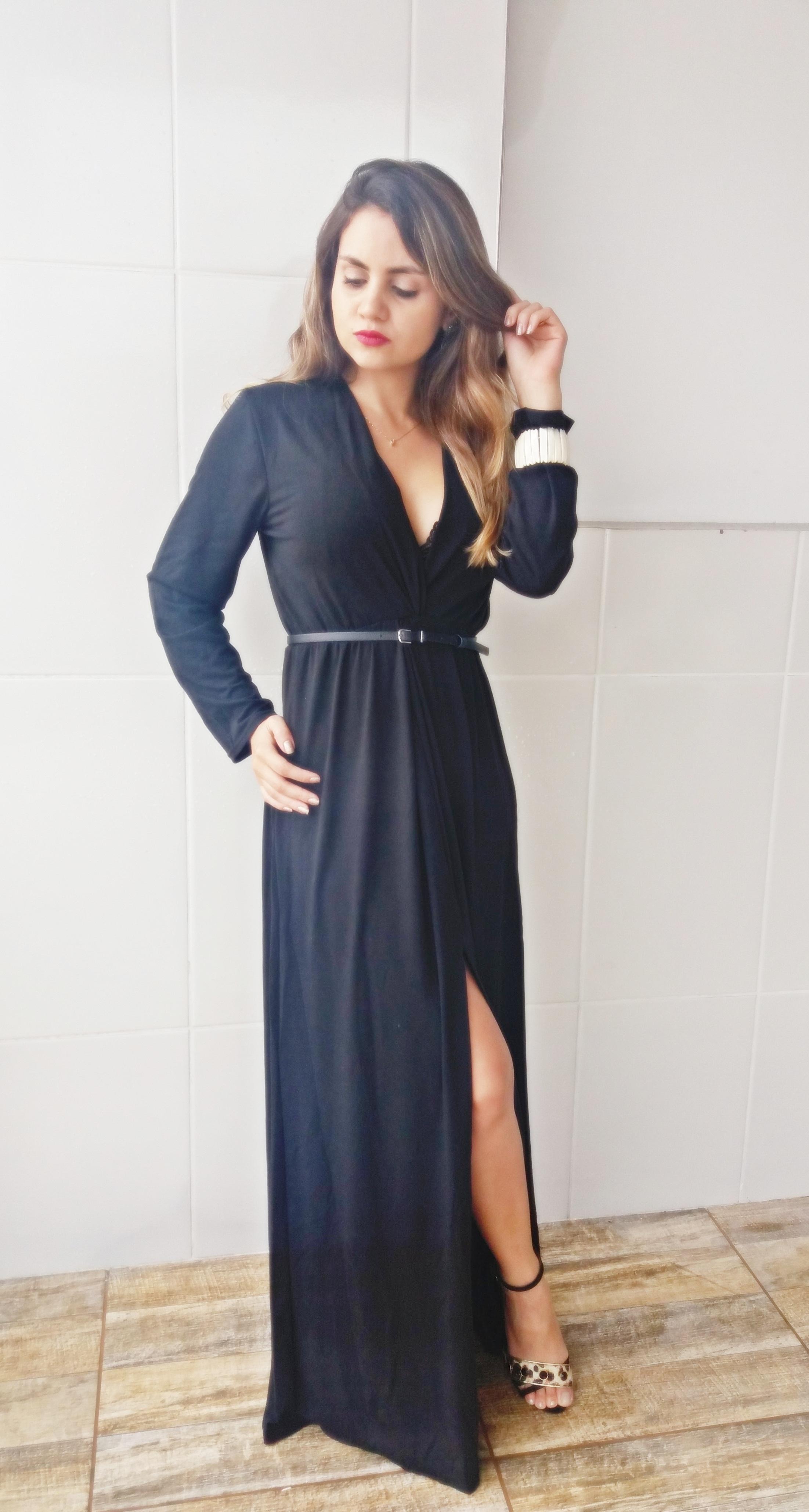 20170118_160403 Look da ka: Fatal Longo Black Dress