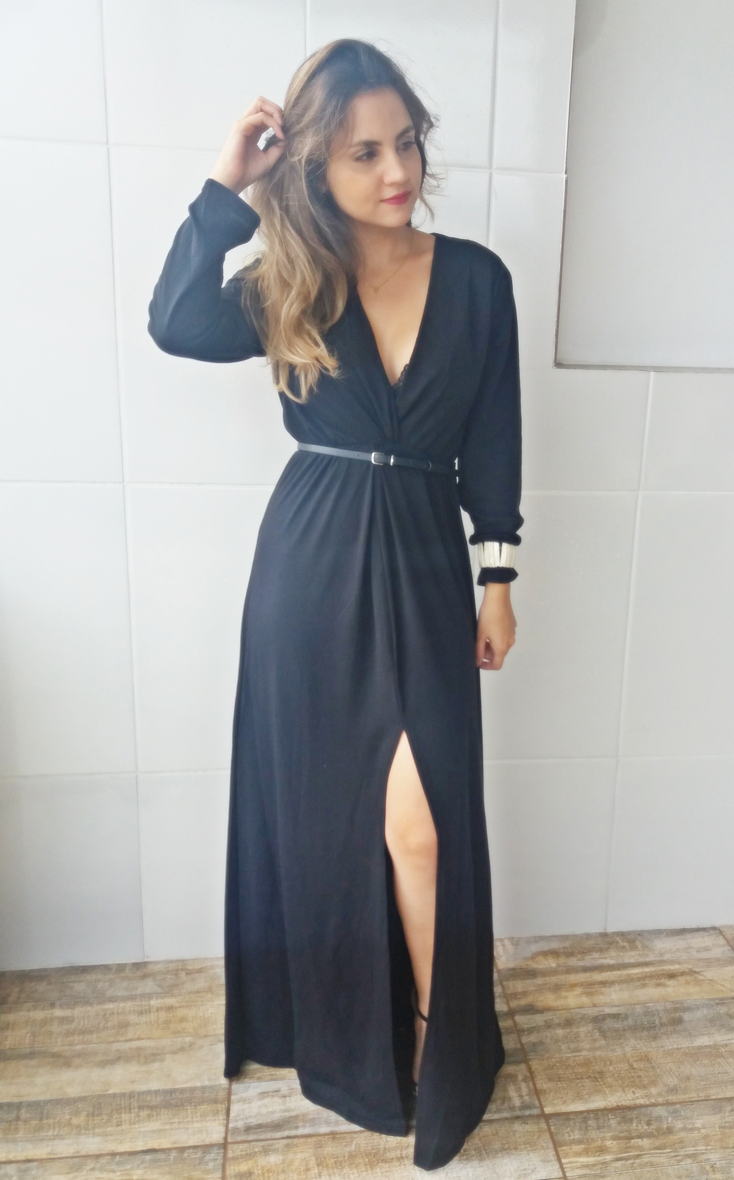 20170118_160429 Look da ka: Fatal Longo Black Dress