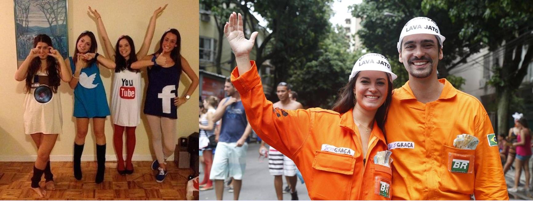 ironicas-achadochique Moda de rua: 5 Looks de carnaval para montar gastando pouco