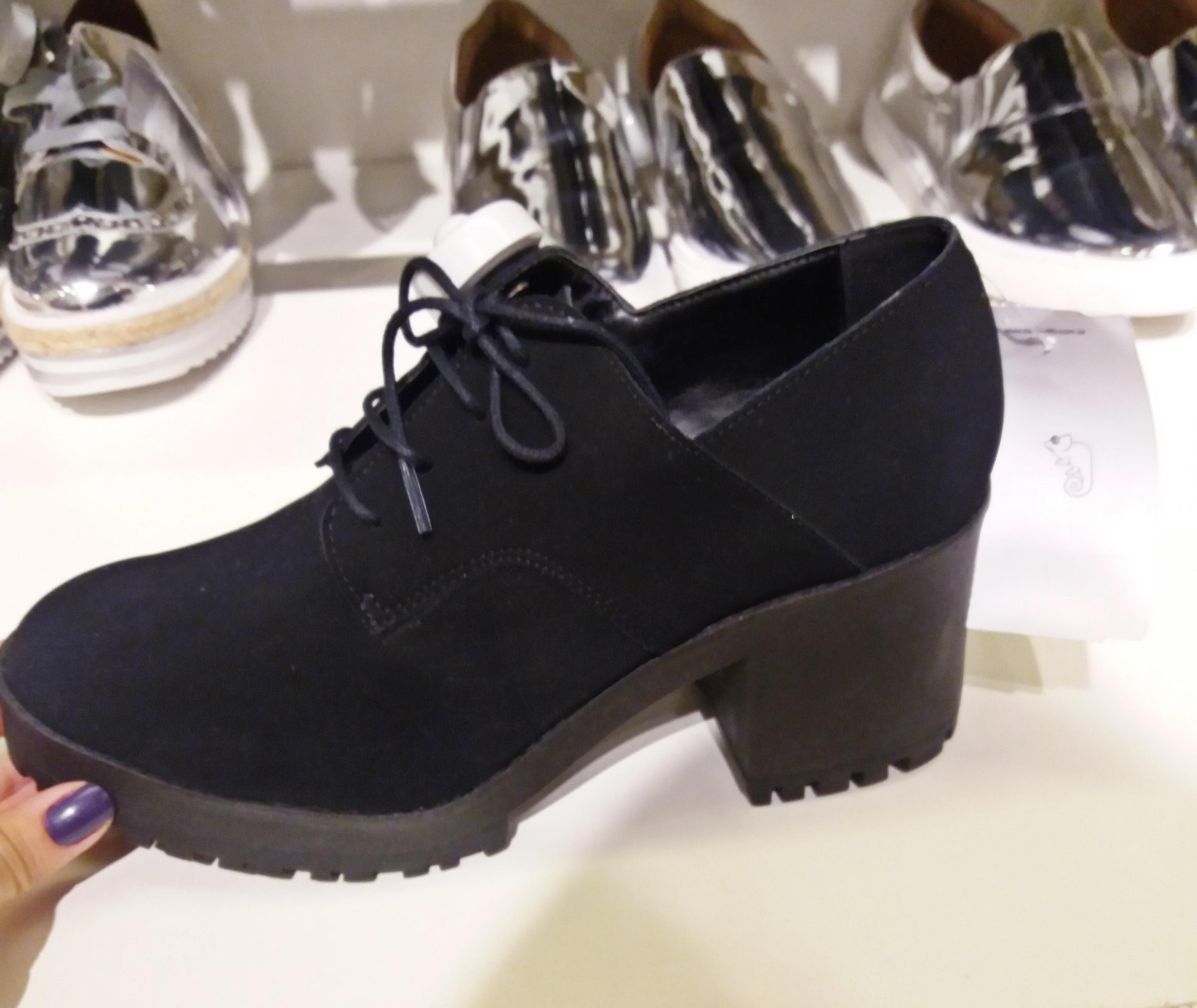 cats Moda de rua: Onde encontrar o sapato Oxford forte tendencia de inverno 2017!
