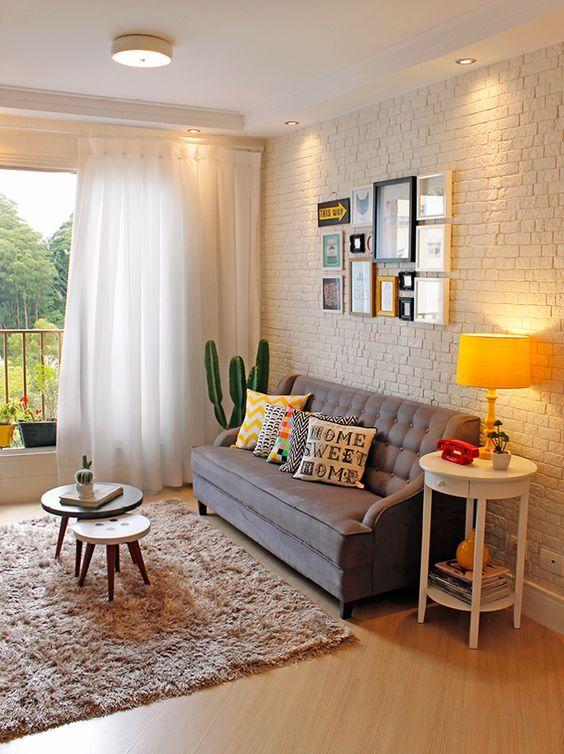 7dcb7d0b37400ae673e4f882910996b7 Missão quem casa quer casa:  Inspirações para sala estar de apartamentos pequenos